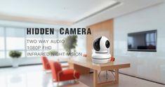 hidden WiFi camera Wireless Video Camera, Waterproof Camera, Dome Camera, Hidden Camera, Security Camera, Night Vision, Wifi, Backup Camera, Spy Cam