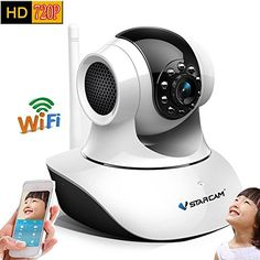 Special Offers - Vstarcam T6835WIP HD Indoor Wireless WIFI IP Camera Night Vision Two-way Voice Network CCTV P2P Multi-stream Baby Monitor Mobile Phone Remote Monitoring (Maximum support 32G TF Card) - In stock & Free Shipping. You can save more money! Check It (July 05 2016 at 01:00AM)…