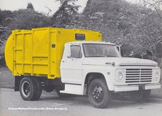 Chevrolet Trucks, Ford Trucks, Rubbish Truck, Garbage Truck, Ford Bronco, Back In The Day, Big, Vehicles, Ford Bronco Lifted