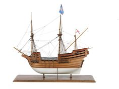 Warship (1588); Galleon; Spanish - National Maritime Museum
