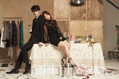 Park Hyung Sik and Park Bo Young are Full of Couple Cuteness in Elle Korea | A Koala's Playground