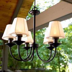 Gorgeous Outdoor Chandelier Lighting