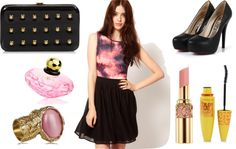 """""""Space"""" by valerialuna809 on Polyvore"""