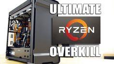 Insane AMD Ryzen 1800X Watercooled PC Build - Ultimate Overkill  http://animasi3d-desain.web.id