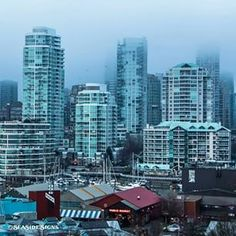 Fog in the City ~ #Vancouver, BC