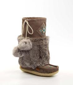 f100fb3cda charcoal mukluks Mens Mukluks, Moccasins, Ugg Boots, Uggs, Rabbit Fur, Grey