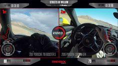 Porsche 718 Boxster S Can Scare A Cayman GT4 On Track #Porsche #Porsche_718