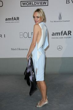 Inna Zobova attends amfAR's 21st Cinema Against AIDS Gala Presented By WORLDVIEW BOLD FILMS And BVLGARI at the 67th Annual Cannes Film Festival on...