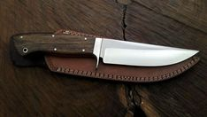 Blade Length : Handle Length : Overall Length : Blade Material : 1095 High Carbon steel Blade Thickness : Blade Style : Clip point Blade Grind : hollow Handle Material : Rose Wood Wood Damascus Sword, Damascus Ring, Damascus Steel, 1095 Steel, D2 Steel, Skinning Knife, Dagger Knife, Knife Handles, Fixed Blade Knife