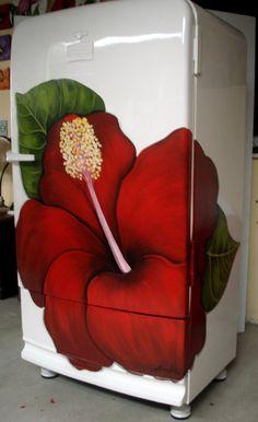 Pintura em geladeira                                                                                                                                                                                 Mais