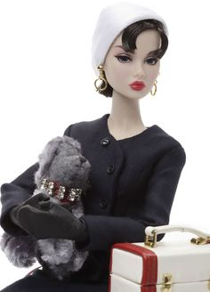 Poppy Parker as Sabrina Fairchild Audrey Hepburn Doll Most Sophisticated Gift Set