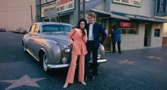 Bobbie Gentry and Glen Campbell on Vine in front of Nick's Burgers. Shared by Glen's son, Travis Campbell!
