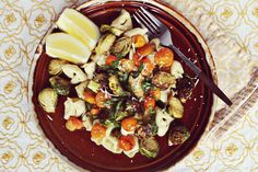 """Roasted Vegetable Salad from """"everyday Emma"""" - A Beautiful Mess blog"""