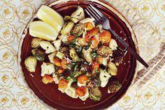 roast veg pasta salad