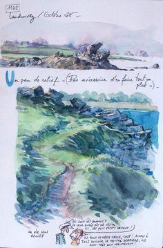 1122 - Une Bretagne par les Contours / Landunvez