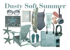 Dusty Soft Summer by prettyyourworld on Polyvore featuring Camilla, Malia Mills, Aéropostale, Vintage Addiction, Tom Ford, Bobbi Brown Cosmetics, Christian Dior, Burberry, Eos and Estée Lauder