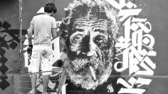 """""""Beirut's Banksy"""" is a terrible label. The murals and portraitsof Lebanese artist Yazan Halwani are not even particularly Bansky like, unless Banksy unironically celebrates celebrities? Halwani's..."""