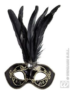 Beautiful and elegant add a mystical look to your costume with this beautiful black eyemask with gold glitter accents. Shades Of Grey, Elegant Masquerade Mask, Marie Antoinette, Gold Glitter, Feather, Diy, Beautiful, Eye Masks, Louis Xiv