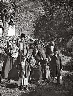 Group of Ashkenazi Jews, Palestine ~ 1900-1920.