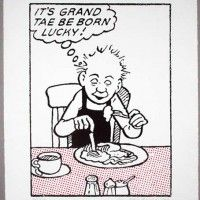 Oor Wullie says: I canna stand it ony langer. Handmade, screen print on mould-made, cotton paper. Classic Comics, Silk Screen Printing, Art Images, Childhood Memories, Comic Art, Art Gallery, Canvas Art, History, Prints