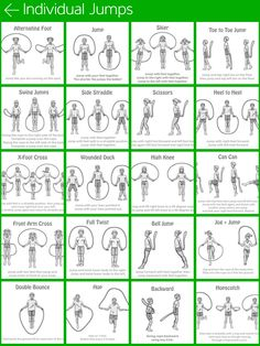 30+ Jump Rope and JFH ideas   jump rope, physical education, pe activities