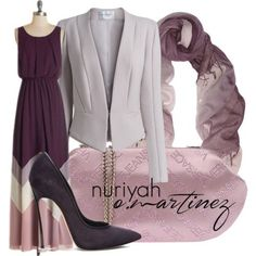 Hijab Fashion 2016/2017: Sélection de looks tendances spécial voilées Look Descreption Hijab Outfit by Nuriyah O. Martinez | hijabhaul.com