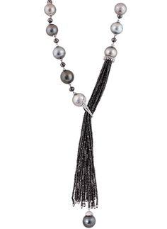 Oriental Gemco pearl tassel necklace