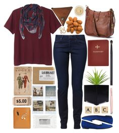 """""""To The Roots"""" by prettyorchid22 ❤ liked on Polyvore featuring Palila, Monki, Wrangler, Alexander McQueen, Frye, FOSSIL, NARS Cosmetics, Club Monaco, Chantecaille and Polaroid"""