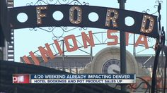 Pot tourism in Colorado: Hotel bookings, marijuana sales up as 4/20 cele...