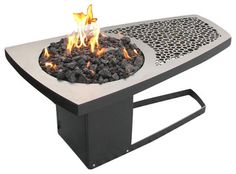 Fire Pit Table by John Xochihua contemporary-firepits