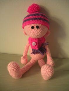 """Crochet amigurumi friend"" #Amigurumi  #crochet"