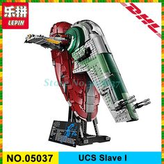 In-Stock LEPIN 05037 Star Classic Series Wars Slave UCS I Slave NO.1 Model 2067Pcs Building Block Bricks Toys 75060 Boy Gifts #Affiliate