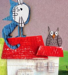 Si yo fuera un gato Collages, Art For Kids, Crafts For Kids, Cute Paintings, Recycled Art, Children's Book Illustration, Childrens Books, Illustrators, Concept Art