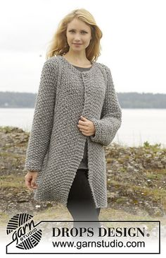 Ravelry: 157-26 Day After Day Cardigan pattern by DROPS design