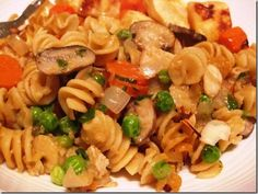 Turkey Tetrazzini Casserole, 7 points+ (SF + 1 WPA) - another great way to use leftover turkey #WeightWatchers