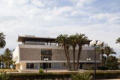 Le Palais présidentiel de Skanès (musée Habib Bourguiba) 1962