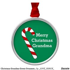 Shop Christmas Holidays by Janz Grandpa Candy Cane Metal Ornament created by _LOVE_SHACK_. Custom Christmas Ornaments, Ornaments Design, How To Make Ornaments, Christmas Holidays, Merry Christmas, Christmas Ideas, Work Gifts, Presents For Her, Candy Cane