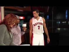 Landry Fields with the epic walk-up intro to our RTZASKS live stream. Air Canada Centre, Prom Dresses, Formal Dresses, Behind The Scenes, Day, Fashion, Dresses For Formal, Moda