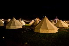 Wedding Bell Tent Hire, Event Bell Tents, Luxury Bell Tents - Festival style wedding accommodation from Cariad Canvas Glamping Uk, Glamping Weddings, Camping Style, Go Camping, Luxury Camping, Beach Camping, Tipi Wedding Inspiration, Wedding Ideas, Bell Tent Camping