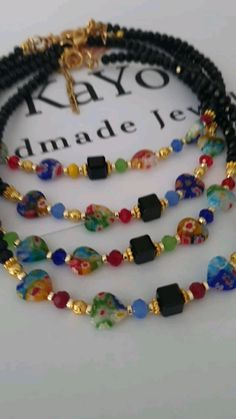Handmade Jewelry, Handmade Items, Etsy Handmade, Handmade Gifts, Beaded Necklace, Beaded Bracelets, Beaded Jewelry, Necklaces, Vintage Gifts