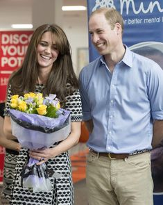 Duchess Kate: The Duke and Duchess of Cambridge Support World Mental Health Day