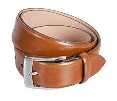 LLOYD Gürtel Leder Herrengürtel Ledergürtel Herrenledergürtel Braun/Cognac, Länge:95 cm;Farbe:Braun