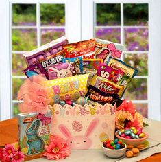 "Surprise them this year with this hand picked box of delicious Easter treats. Nestled inside Hip Hops Easter Treats Gift Box is a tasty variety of sweet and traditional treats. $54.99 & S/H Shop Online > Holidays and Occasions  >  Easter  >  Hip Hops Easter Treats  ""Easter Sunday is 4/20 > all Orders must be in by 4/11"" Order yours today!  http://forever.labellabaskets.com/"