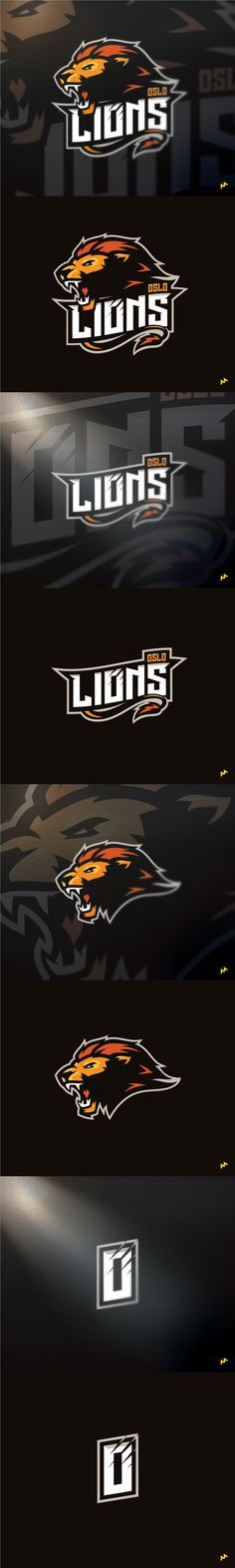 Oslo Lions on Behance                                                                                                                                                                                 Más