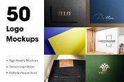 50 Logo Mockup Branding Bundle - V1 | Creative Photoshop Templates ~ Creative Market Creative Photoshop, Templates Free, Mockup, Branding, Logo, Design, Free Stencils, Brand Management, Logos
