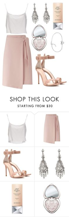 Highlight It by tasha-m-e on Polyvore featuring moda, Jean-Paul Gaultier, Miss Selfridge, Gianvito Rossi, Ben-Amun, FOSSIL, Too Faced Cosmetics and Givenchy