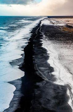 Black Sand Beaches In Iceland El Salvador Beach Hawaii Barrel Waves