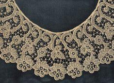 Carrickmacross Guipere Collar — Marla Mallett Textiles