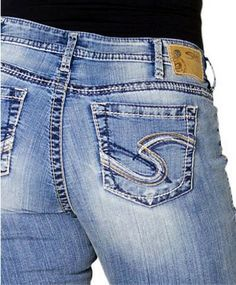 Silver Jeans Women Plus Size Jeans Tuesday Bootcut Stretch in Light Blue Wash
