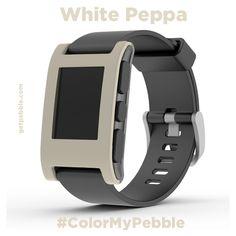 "Laurie K. on Kickstarter wanted Mini Cooper's Pepper White. ""White Peppa!"""